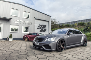 Prior Design PD Black Edition V3 Widebody W221 S-Class