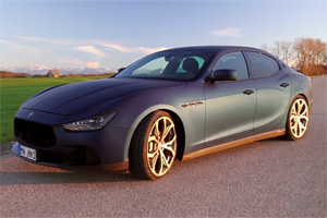 Novitec Tridente Maserati Ghibli Video