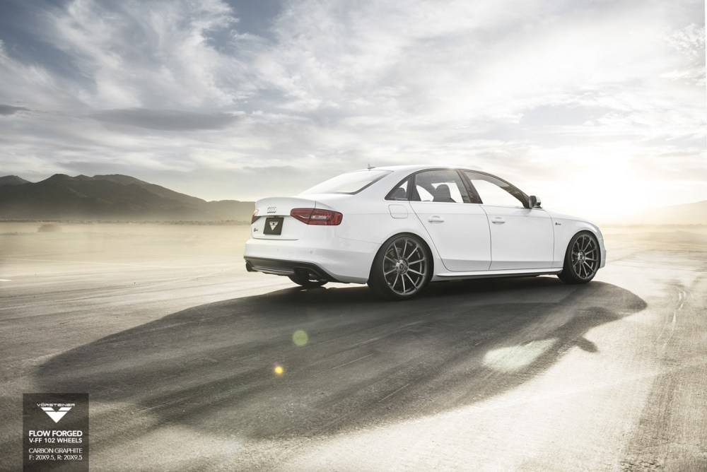Audi S4 Vorsteiner V-FF 102 Flow Forged Wheels