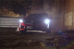 Cadillac CTS-V Burnouts