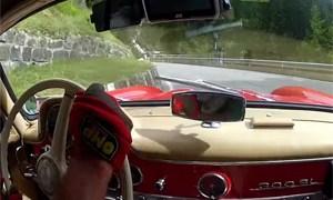 Mercedes-Benz 300SL Gullwing Hill Climb