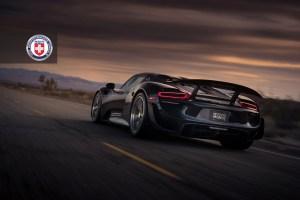 Porsche 918 Spyder HRE P101 Forged Wheels