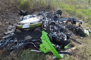 Lamborghini Huracan Crash 200 mph