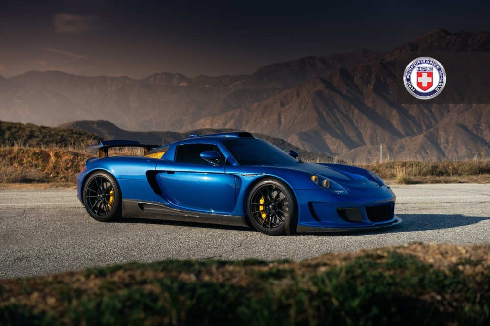 Gemballa Mirage GT HRE P104 Forged Wheels