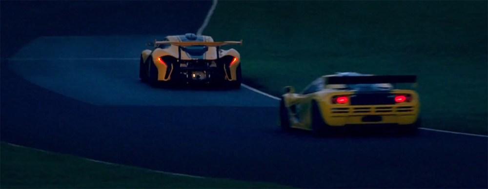 McLaren P1 GTR vs F1 GTR