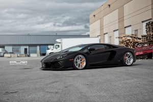 Lamborghini Aventador with PUR LX04.V3 Forged Wheels