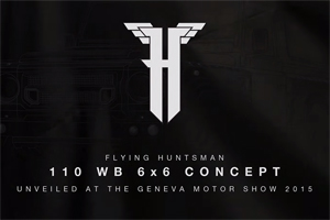 Flying Huntsman 110 WB 6x6 Concept