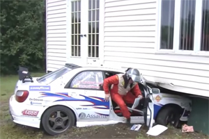 Friday FAIL Subaru Rally Crash