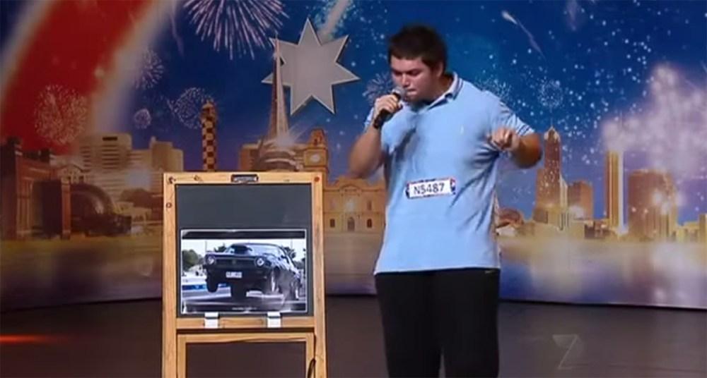 Daniel Jovanov Car Sounds with Mouth