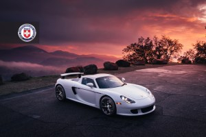 Porsche Carrera GT with HRE P101 Forged Wheels
