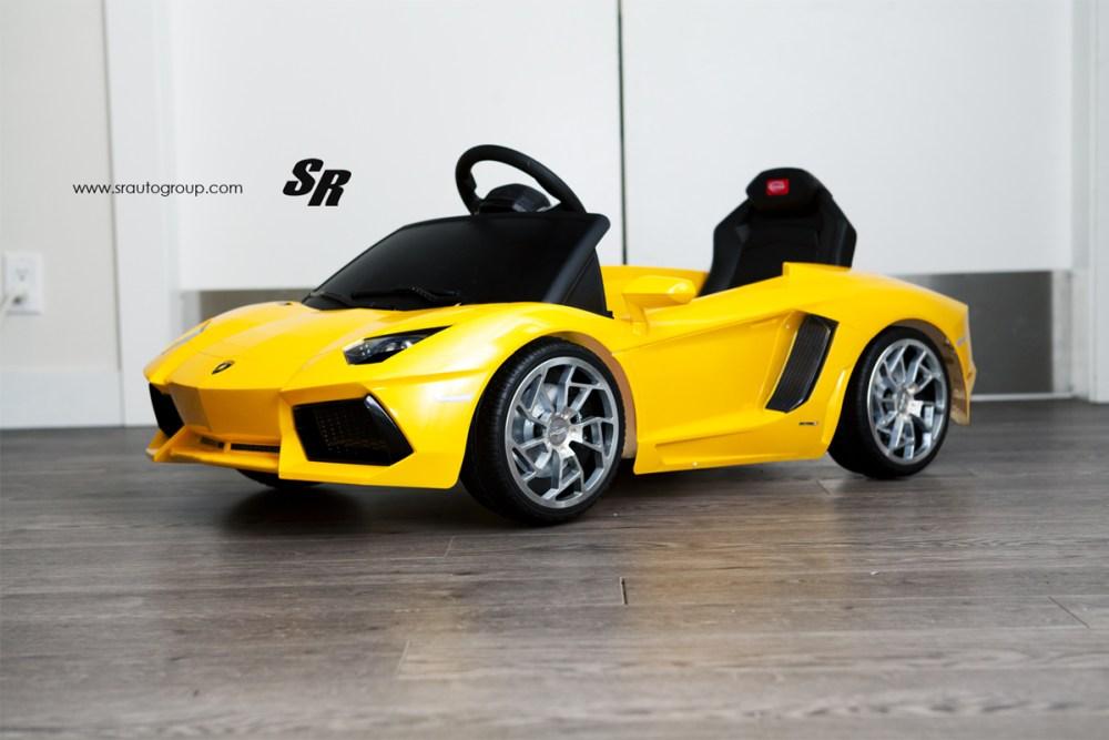 SR Auto Group Mini Lamborghini Wheels