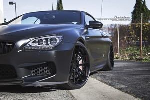 "BMW F12 M6 on 21"" Brixton Forged M53 Monaco Series"