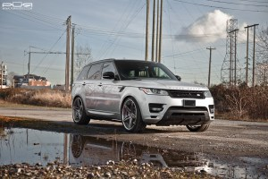 Range Rover Sport Supercharged PUR LX17 Wheels