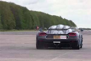 Koenigsegg One:1 Speed Run