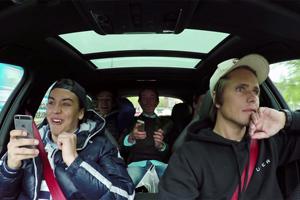 Jon Olsson Uber RS6 DTM