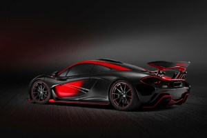 Black and Red MSO McLaren P1