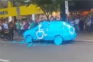 Friday FAIL Brazil Parking Offender