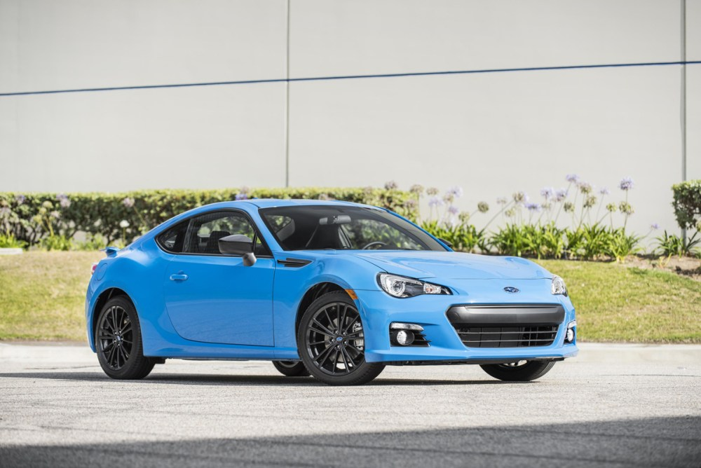 Subaru Series.HyperBlue BRZ
