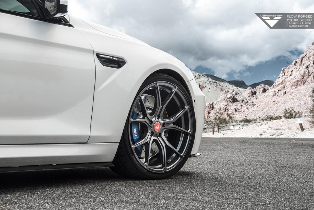 F13 BMW M6 Vorsteiner V-FF 103 Flow Forged Wheels Aero Kit