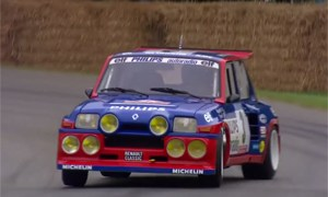 Jean Ragnotti Renault 5 Maxi Turbo Goodwood