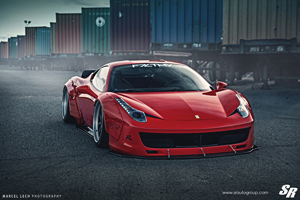 Liberty Walk 458 Italia SR Auto Group