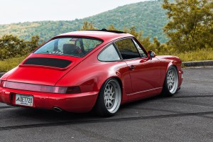 964 Porsche 911 with Rotiform OZT Wheels