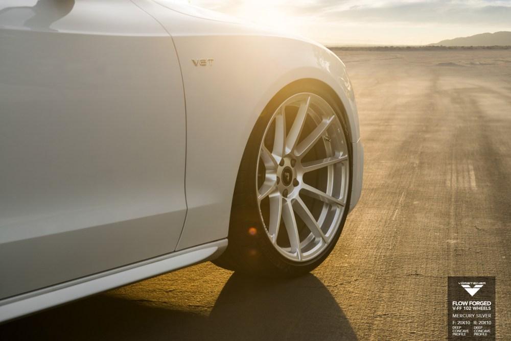 Audi S5 Vorsteiner V-FF 102 Flow Forged Wheels