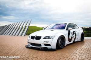Liberty Walk E92 BMW M3 PUR LG08 Wheels by Sunus Motorsports