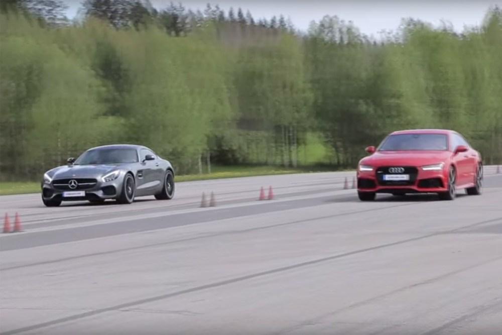 Mercedes-AMG GT S vs Audi RS 7