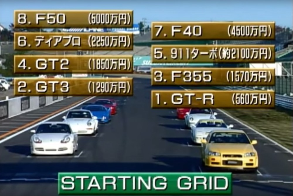 Super car legends Suzuka Race