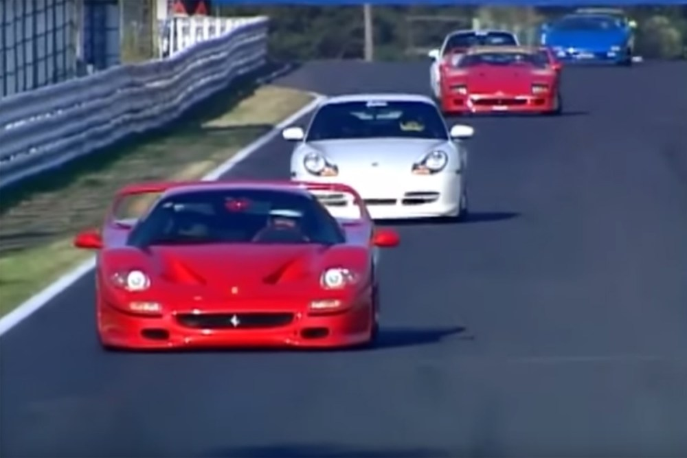 Super car legends Suzuka Race