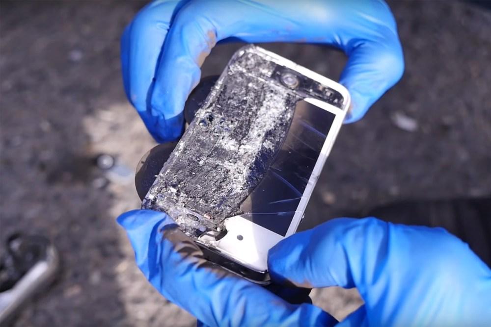 iPhone brake pads