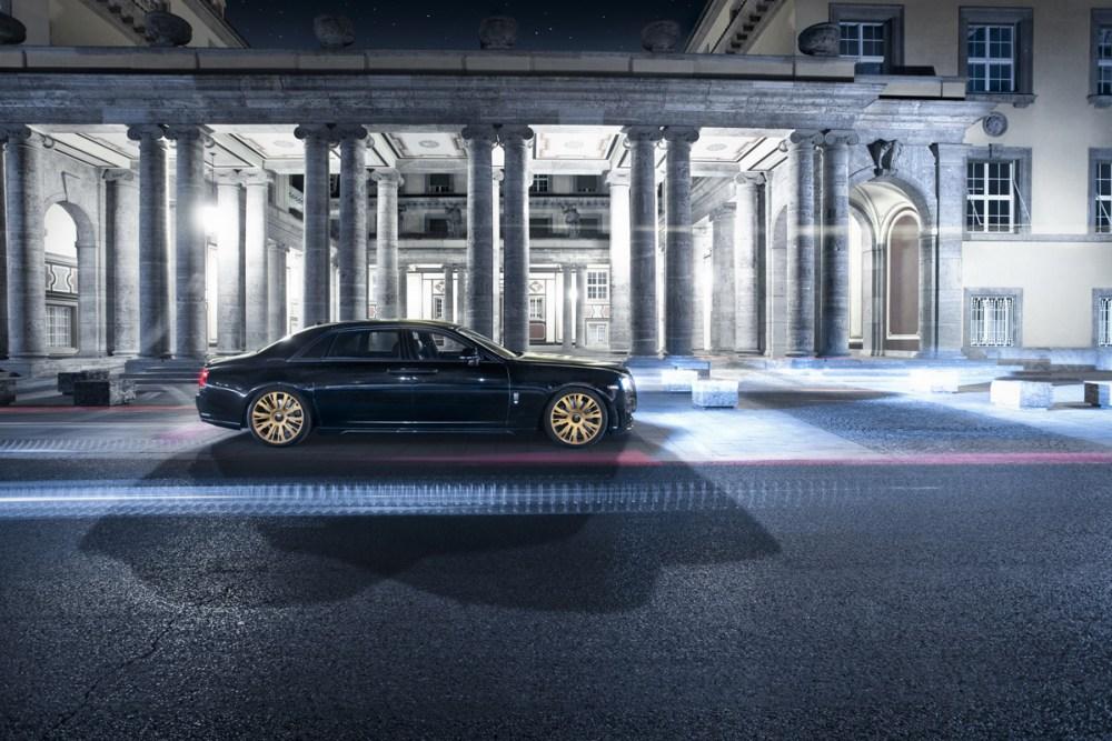 Spofec Black One Rolls Royce Ghost Series II