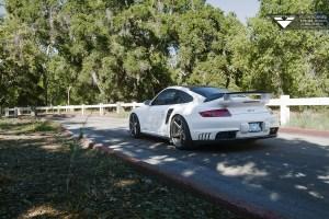 Shift-S3ctor Porsche 911 GT2 with Vorsteiner V-FF 104 Flow Forged Wheels