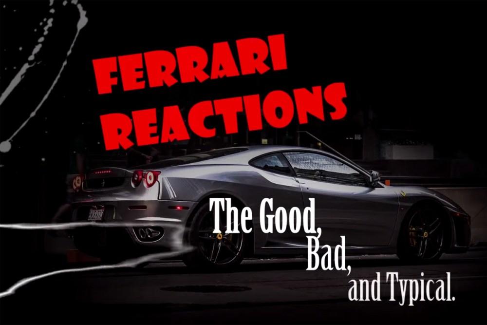 Ferrari Driver Reactions in Toronto