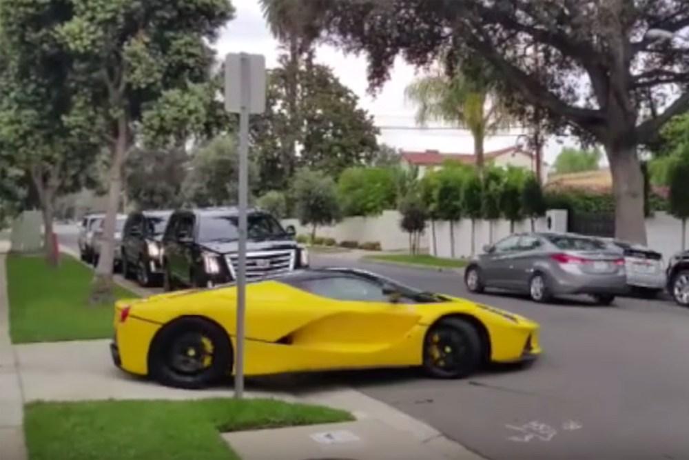 Ferrari LaFerrari Idiot