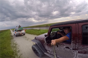 Friday FAIL Jeep Selfie Crash