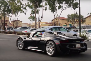 Porsche 918 Spyder Corvette FAIL