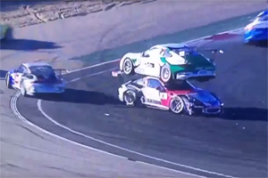 Porsche Carrera Cup France Crash