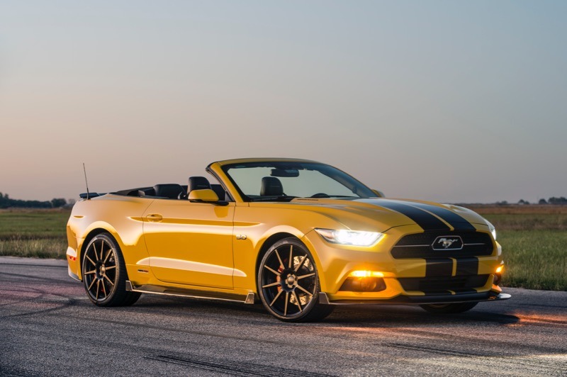016 HPE750 Supercharged Ford Mustang Convertible