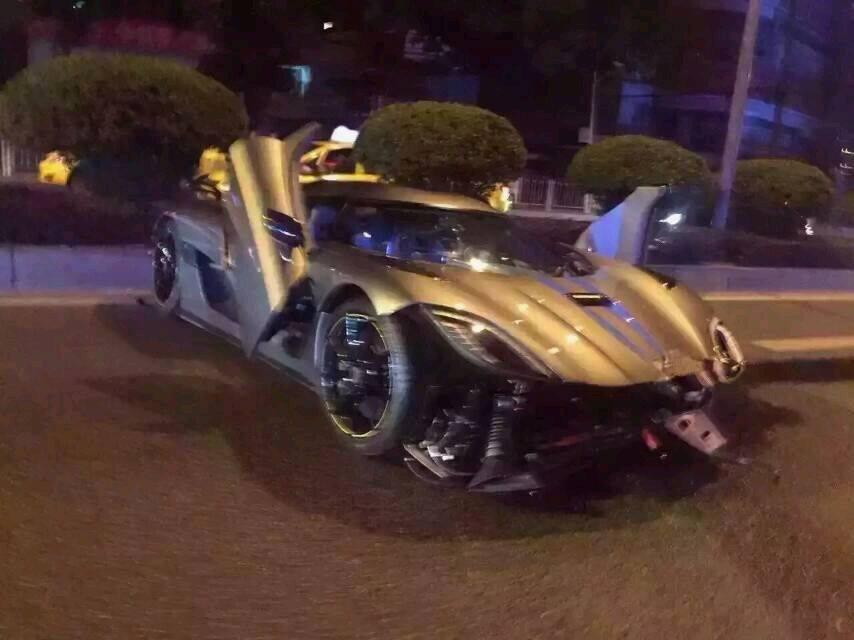 One Swede Down – Koenigsegg Agera R Crashes in China