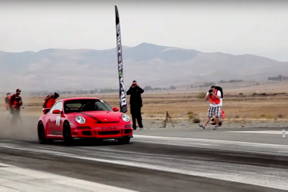 Shift S3ctor Porsche 911 Spin out 202 mph