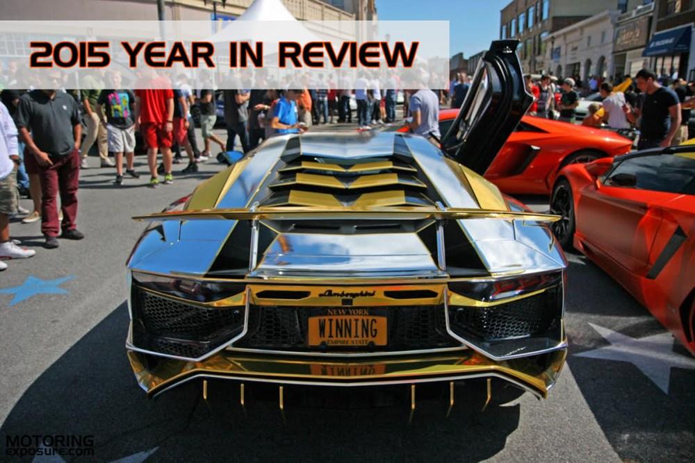 Motoring Exposure 2015 Year in Review