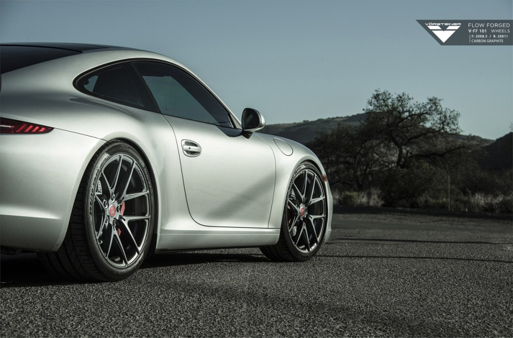 Porsche 911 Carrera with Vorsteiner V-FF 101 Flow Forged Wheels