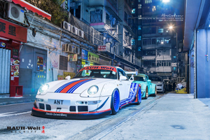 993 RWB Porsche 911 Martini Racing Brixton Forged Wheels