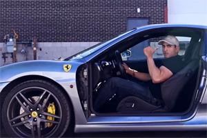 Ferrari Lamborghini Mustang Superleggera