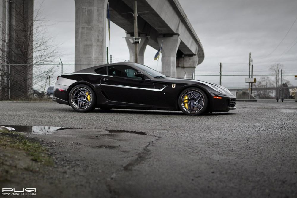 Ferrari 599 GTB Fiorano with PUR LX22.V3 Wheels