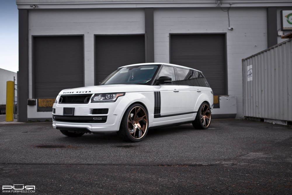 Range Rover L Autobiography with PUR LX19 Wheels and Kahn Design Widebody