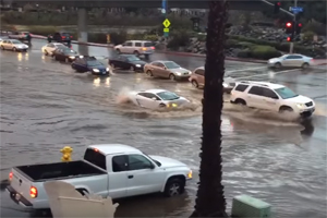Lamborghini Gallardo Submarine Flood