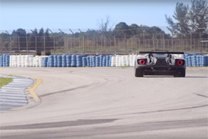 Ford GT Testing